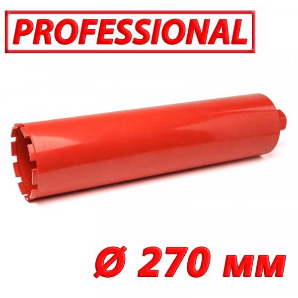 """Картинка - Алмазная коронка по бетону SUPERHARD """"PROFESSIONAL"""" 270 мм 1 1/4""""UNC"""