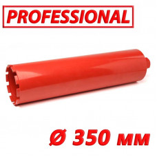 "Алмазная коронка по бетону SUPERHARD ""PROFESSIONAL"" 350 мм 1 1/4""UNC"