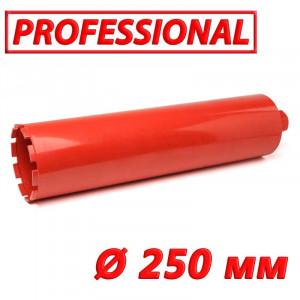"""Картинка - Алмазная коронка по бетону SUPERHARD """"PROFESSIONAL"""" 250 мм 1 1/4""""UNC"""