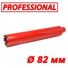 "Алмазная коронка по бетону SUPERHARD ""PROFESSIONAL"" 82 мм 1 1/4""UNC"