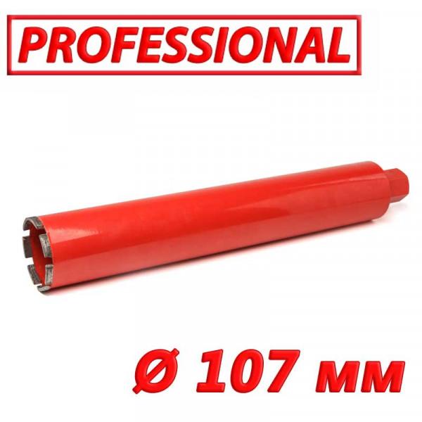 """Картинка - Алмазная коронка по бетону SUPERHARD """"PROFESSIONAL"""" 107 мм 1 1/4""""UNC"""
