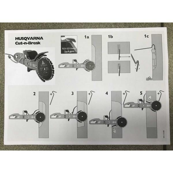 Электрорезчик Husqvarna K 4000 Cut-n-Break