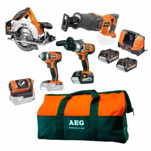 Набір акумуляторного інструменту AEG JP185ALI402B