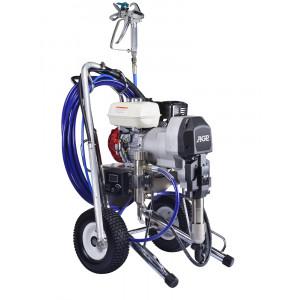 Безвоздушный распылитель краски бензиновый AGP PE048