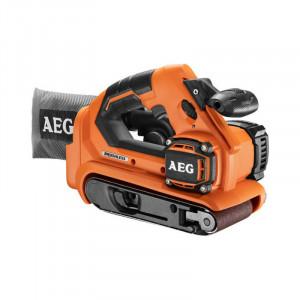 Аккумуляторная ленточная шлифмашина AEG BHBS18-75BL-0
