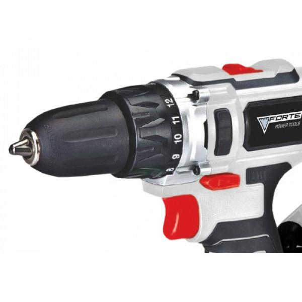 Акумуляторна дриль-шуруповерт FORTE CDL 1217-2 B2Б
