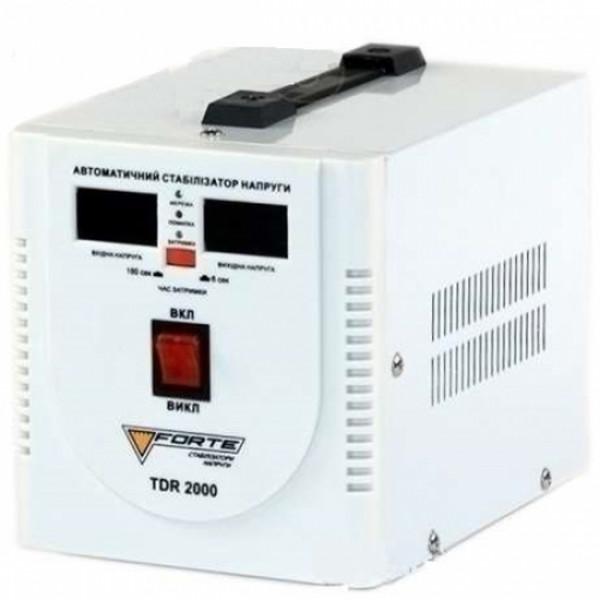 Картинка - Стабилизатор напряжения FORTE TDR-2000VA