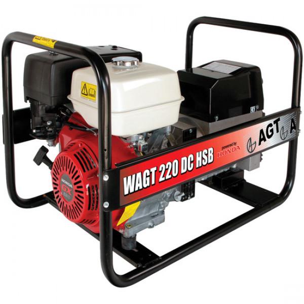 Фото - Зварювальний генератор AGT WAGT 220 DC HSBE