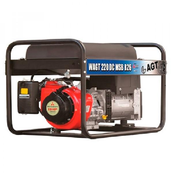 Картинка - Сварочный генератор  AGT WAGT 220 DC HSBE R26