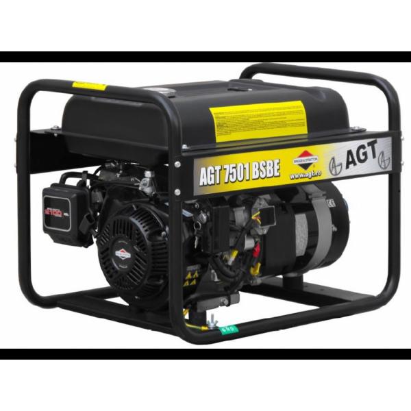 Картинка - Генератор бензиновый AGT 7501 BSBE SE PFAGT7501BE26/E