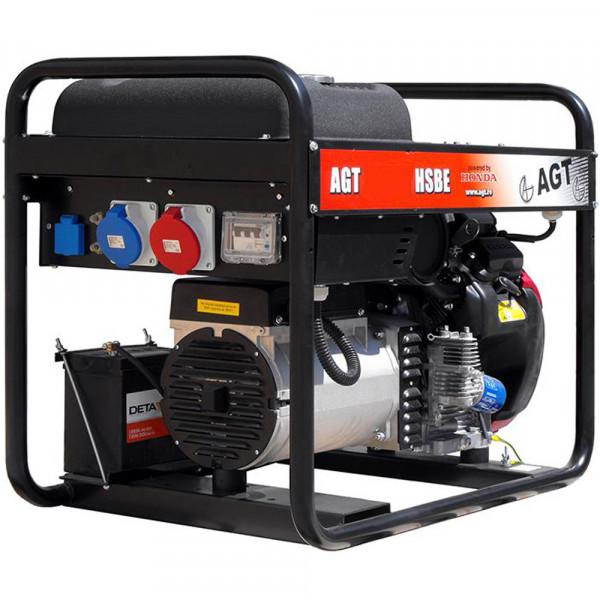 Картинка - Генератор бензиновый AGT 11501 HSBE R16 AVR PFAGT11501HA/E