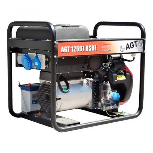 Фото - Бензиновий генератор AGT 12501 HSBE R16 (PFAGT12501H16/E)