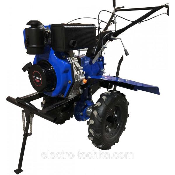 "Картинка - Культиватор синий воздух 1050 колеса 10"", 6лс FORTE"
