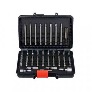 Набір для свердління і загвинчування BLACK + DECKER, 38 елементів, чемодан.