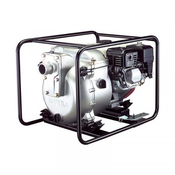 Картинка - Мотопомпа для грязной воды Koshin KTH-50X (Honda GX160)