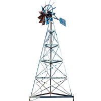 Ветряные системы аэрации воды