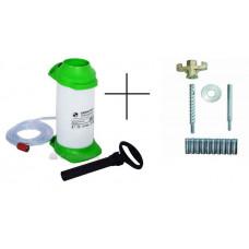 Набор для установок алмазного сверления: набор для крепления 35720 и бак для подвода воды 5 л. (35811)