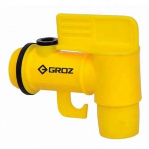 Кран пластиковый Groz FAU/0-2