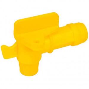 """Кран пластиковый для бочки Groz FAU/3-4, 3/4"""", М10х1"""