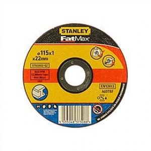 Круг отрезной STANLEY STA32632 по металлу 115x1x22.23