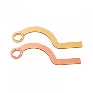 №157A Ключ накидной серповидный