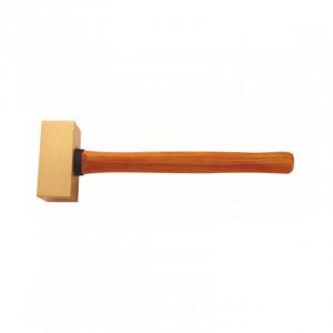 №2106B Латунная кувалда с деревянной рукояткой