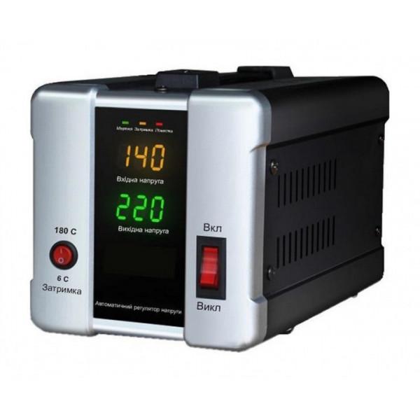 Картинка - Стабилизатор релейный 1 Ф HDR-2000 1200Bт FORTE