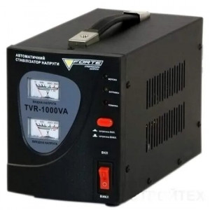 Стабилизатор релейный FORTE TVR-1000VA (1кВт)