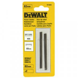 Ножи для рубанка DeWALT, HSS, 82 мм, 1 пара.