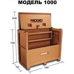 Модель 1000 - контейнер с крышкой на петлях