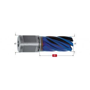Корончатое сверло Karnasch BLUE-LINE D 14 мм L 30 мм WELDON 19