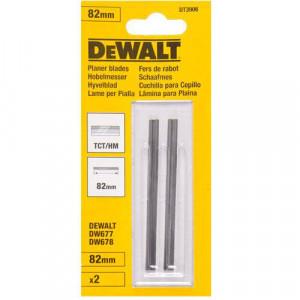 Ножи для рубанка DeWALT, ТСТ, 82 мм, 1 пара.