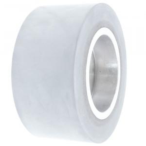 Ролик 105-50-25-8 V резиновый 65 ShA серая Weing
