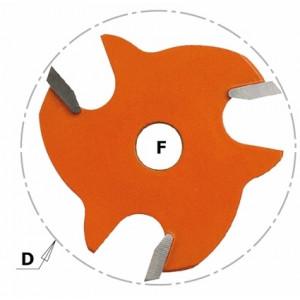 Пильное полотно I = 3,2 D = 47,6 F = 8 F = 8 (822.332.11)