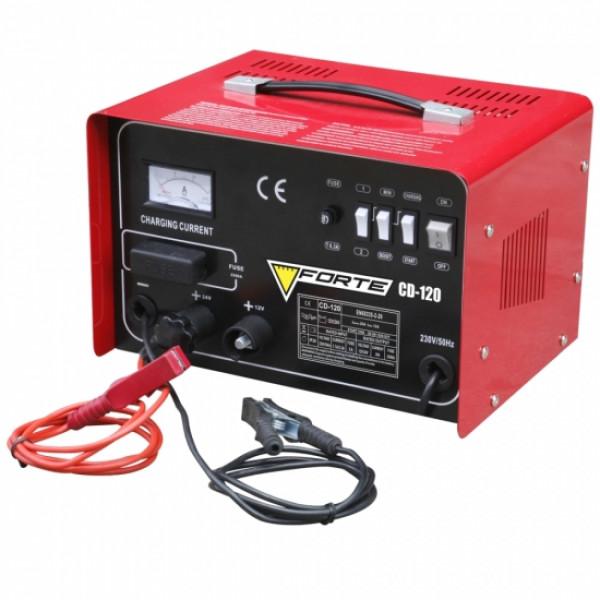 Фото - Пускозарядний пристрій CD120 заряд 16 / 20А, пуск 120А FORTE