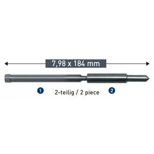 Сборный выталкивающий штифт Karnasch 7,98 х 184 мм