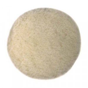 Насадка полировальная DeWALT, d=125 мм, овчина.