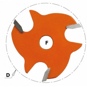 Пильное полотно HM I = 4 D = 47,6 F = 8 (822.340.11)