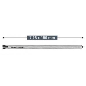 Выталкивающий штифт Karnasch 7,98 х 180 мм