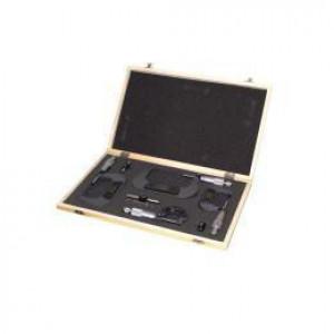 Комплект мікрометрів зі скобою Holzmann BMS4