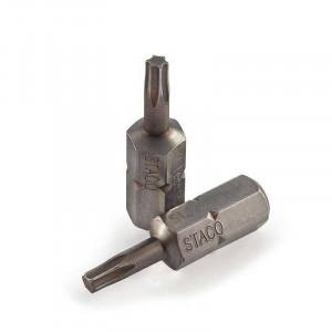 """Бита 1/4 """"TX25x25мм 6шт. нержавеющая сталь (20748.STACO)"""