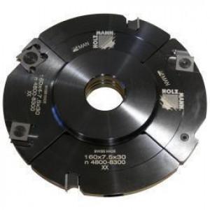 Головка пазорезная регульована з проміжними кільцями Holzmann VN160 (4-15)