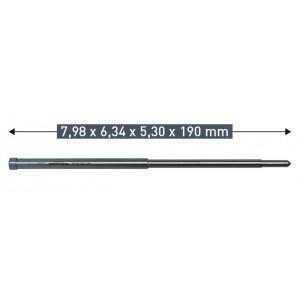 Выталкивающий штифт Karnasch 7,98 х 6,34 х 5,30 х 190 мм
