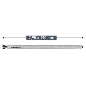 Выталкивающий штифт Karnasch 7,98 х 190 мм
