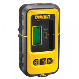 Мишень-лучеуловитель DeWALT (красный лазер), питание 9.0В, LCD дисплей, диапазон работы 50м