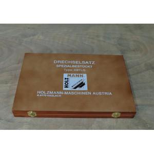 Комплект токарних різців Holzmann H8TLG