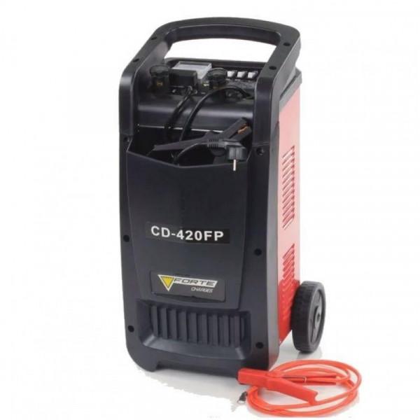 Картинка - Пускозарядное устройство CD420FP заряд 25/27А, пуск 400А FORTE