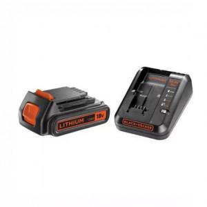 Зарядное устройство BLACK+DECKER, 14.4 В/18 В, исходящий ток 1 A, вес 0.95 кг